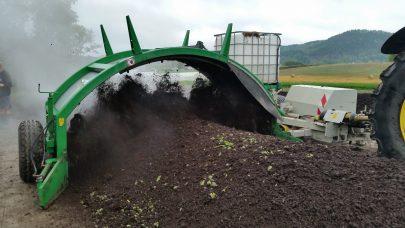 Kompostvender fra Gujer Foto Hilde Olsen